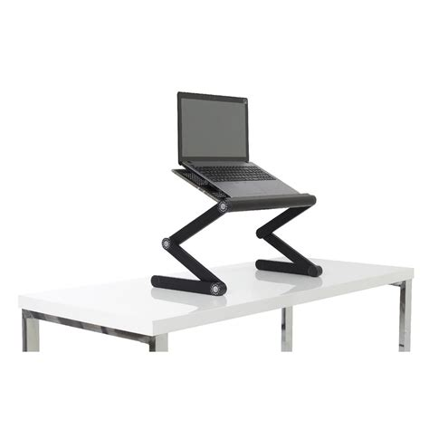 portable folding sit stand desk ebay