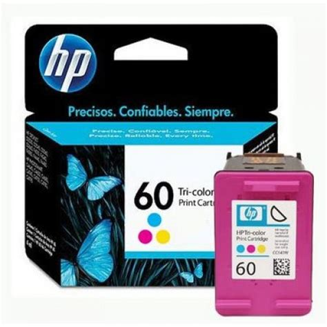 Tinta Cartridge Hp 60 Color Original Berkualitas jual cartridge printer original hp tri color 60 cc643wn distributor tinta printer original