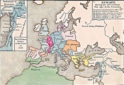 map world powers in 12 century map of europe 12th century mappery