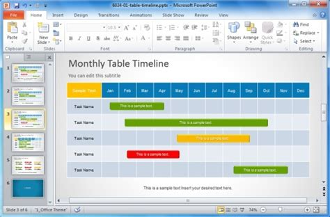 project calendar template 2 best project management templates for powerpoint