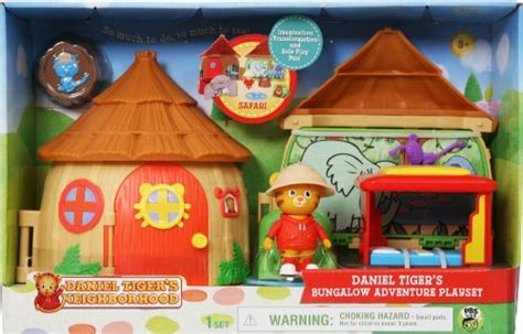 daniel tiger trolley bed daniel tiger s neighborhood bungalow adventure playset