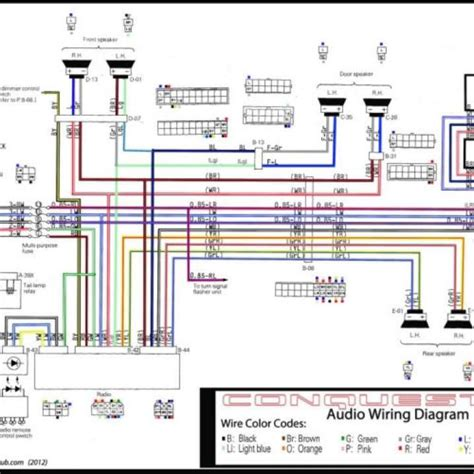 car radio speaker wiring diagram wiring diagrams wiring