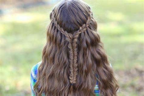 Waterfall Hairstyles by Scissor Waterfall Combo Hairstyles