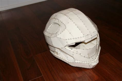 How To Make A Paper Halo Helmet - halo costumes