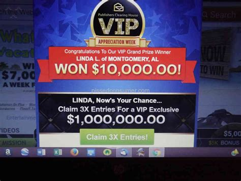 Publishers Clearing House Website - publishers clearing house false prize announcement jan 23 2018 pissed consumer