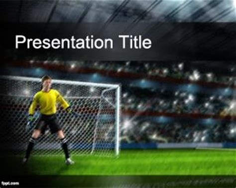 football themed powerpoint 2007 soccer powerpoint theme