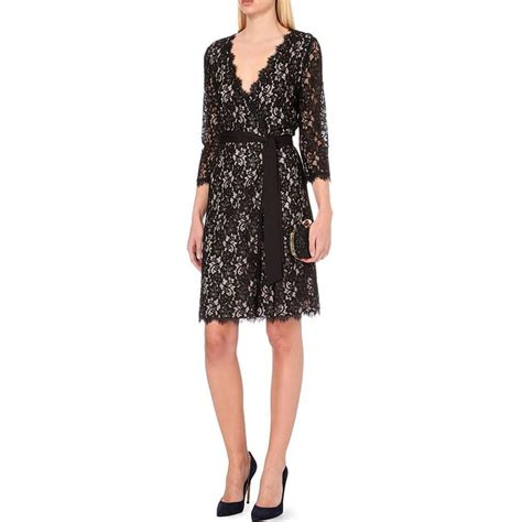 Diane Furstenberg The Wrap diane furstenberg julianna wrap lace dress