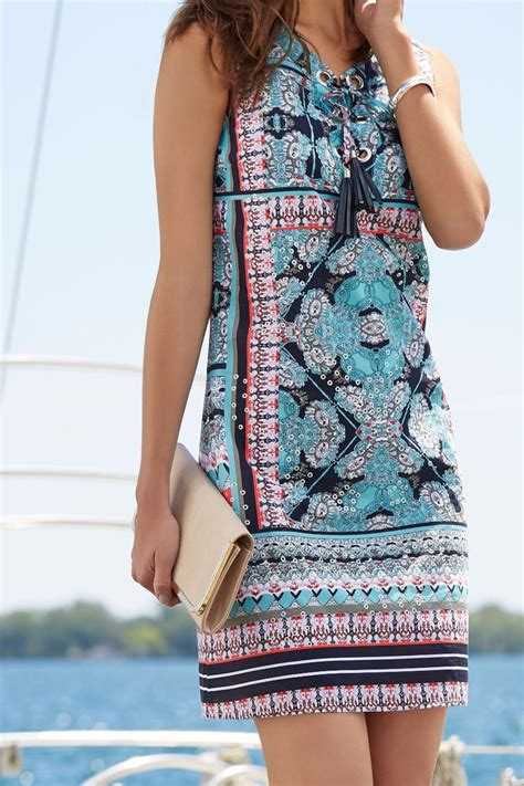 Tribal Blue Chika Dress tribal papaya studded dress from pittsburgh by trunk shows boutique shoptiques