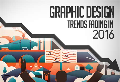 2016 design trends graphic design trends fading in 2016 articles graphic