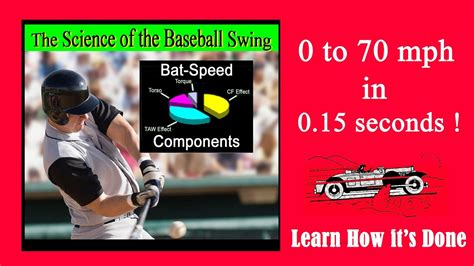 the science of the swing the science of the baseball swing 0 to 70 mph in 0 15 sec