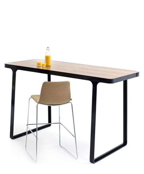 Bar Height Meeting Table Trace High Table Arenson Office Furnishings