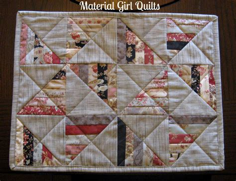Quilting Placemats by Quilted Placemats Material Quilts