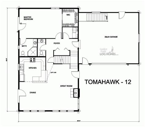golden eagle log and timber homes floor plan details th 12
