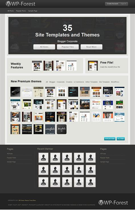 themeforest marketplace wpforest create a themeforest wordpress theme marketplace