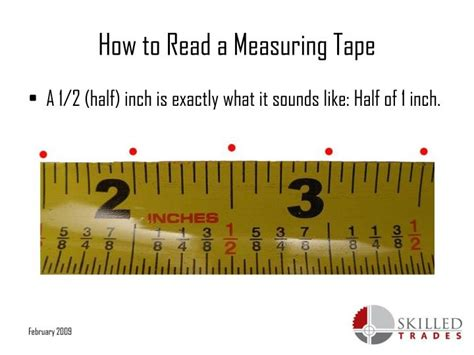 show tape measure reading powerpoint the gallery for gt how to read measuring