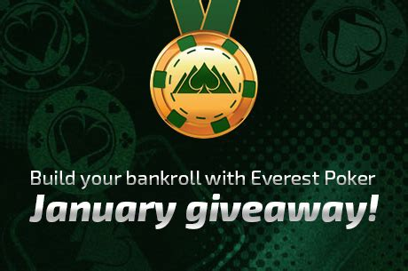 Bad Poker Players Giveaway - jumpstart your bankroll with everest poker s january rewards giveaway pokernews