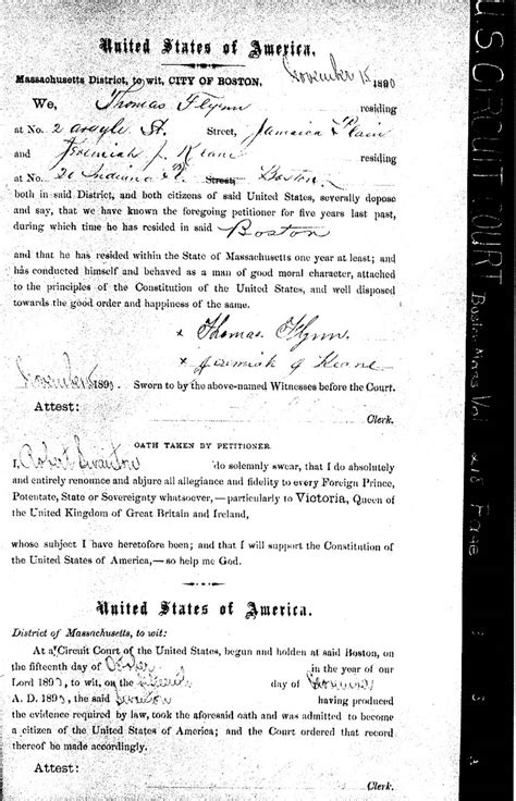 Worcester County Birth Records Massachusetts Naturalization Citizenship Records