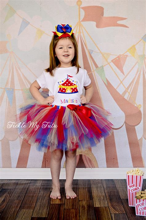 carnival themed birthday outfits under the big top circus tent carnival themed by ticklemytutu
