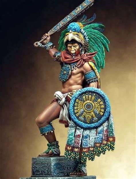 imagenes caballeros aztecas armamento tolteca azteca y puntas de flechas indias