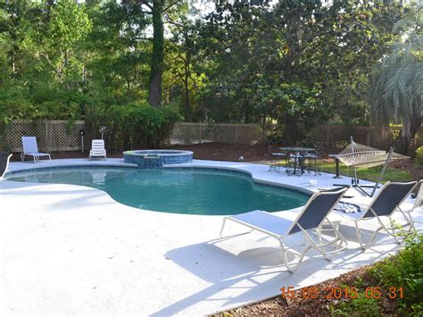 fenced in backyard fenced in backyard with pool and spa vrbo