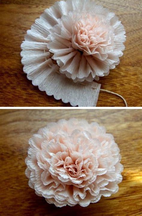 Carnation Paper Flower - papierblumen basteln als filigrane und dauerhafte