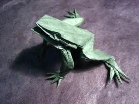 Origami frog pattern 171 embroidery amp origami