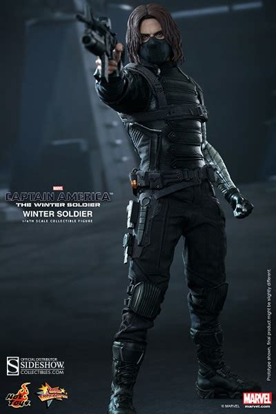 T Shirt Winter Soldier 002 marvel winter soldier sixth scale figure by toys