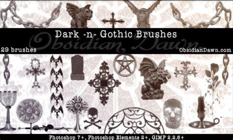 gothic pattern brush dark n gothic brushes fbrushes