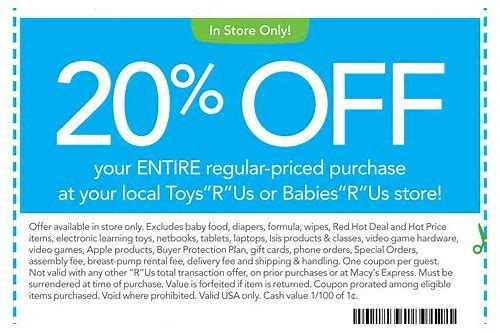 printable coupons for baby things