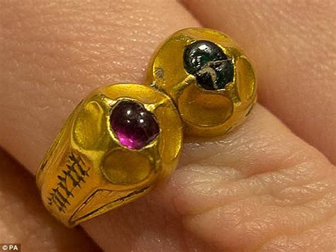 what a find rare tudor ring unearthed by an amateur