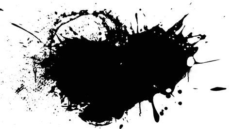 black splash ink splash stock footage 764398