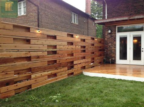 wrap around deck designs wrap around deck with horizontal fence pergoal