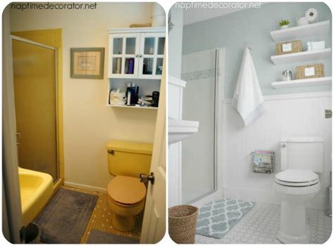 hometalk master bathroom clean fresh makeover