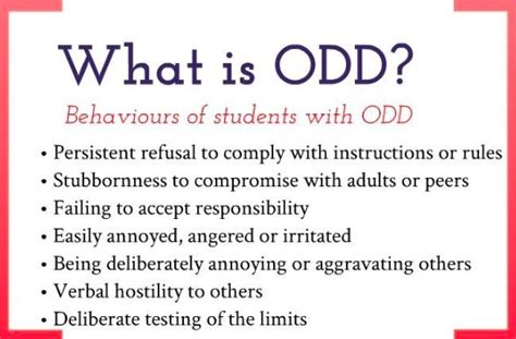 what is oppositional defiant disorder symptoms