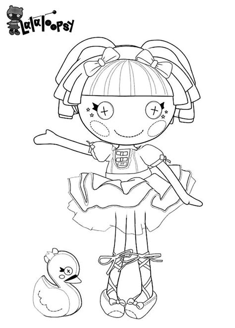 Lalaloopsy Coloring Pages Fun With Rylie Pinterest Lalaloopsy Colouring Pages