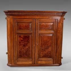 small oak wall cabinet antique small corner wall cabinet cupboard oak antiques