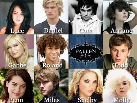 casting books movies fandoms fallen the movie by lauren kate they already chose the
