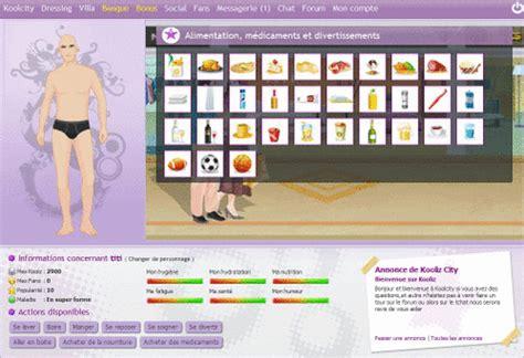 jeu de cuisine virtuel kooliz devenez une celebrite virtuel jeu gratuit du