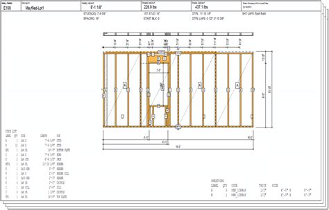 photo wall layout tool vertex bd for wood framing argos systems inc