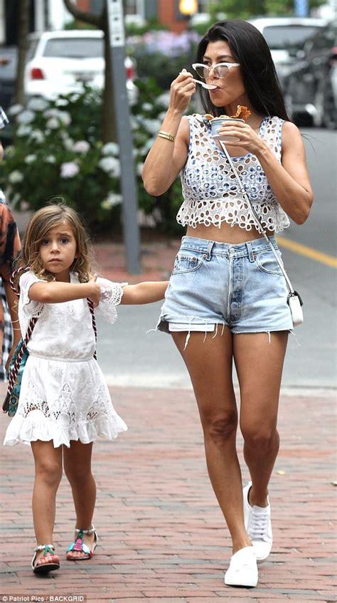 Qa With Penelope by Kourtney Looks Summery In White Crochet Top