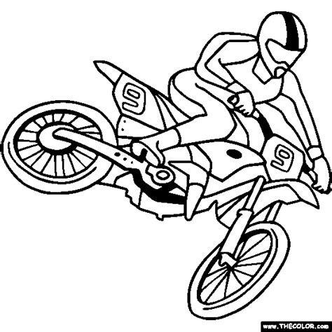 barbie bike coloring page dirt bike coloring pages coloring pages for boys 16