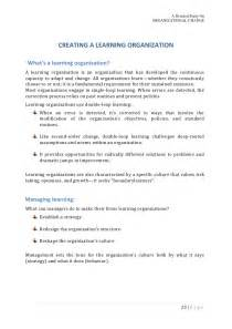 Sle Organizational Change Announcement by Organizational Change An Organizational Behavior Project
