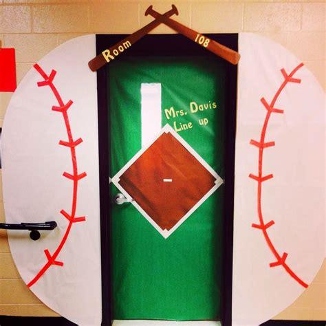 themes sport com baseball themed classroom door sport team school theme