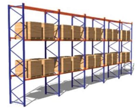 Racking Stress by Selective Dynamic Racking Warehouse Solution
