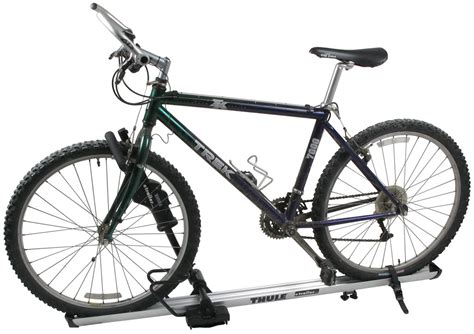 Thule Bike Roof Rack by Thule Sidearm Wheel Mount Bike Carrier Roof Mount Thule