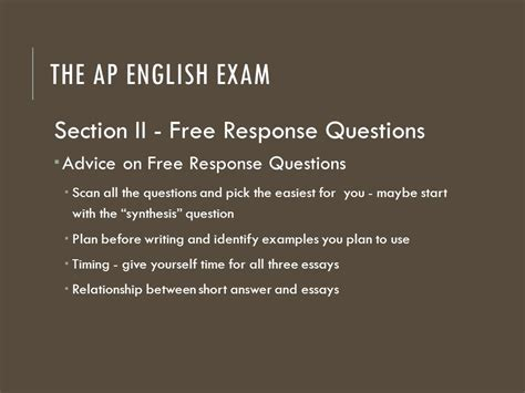 ap english language and composition section 1 answers ap english language and composition ppt download