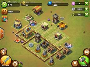 Games Like Backyard Monsters Castle Clash Ios Game Like Clash Of Clans