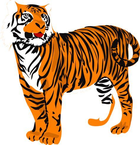 Clipart Tiger tiger clip at clker vector clip royalty free domain