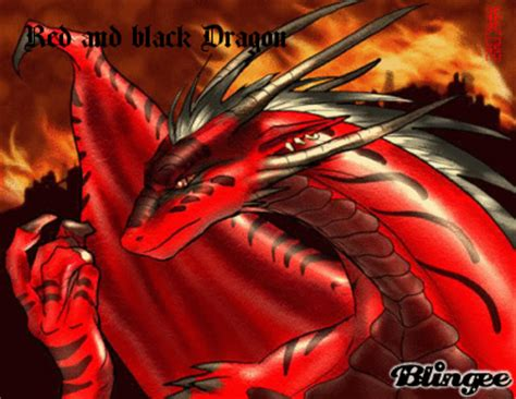 red and black dragon picture 107019885 blingee com