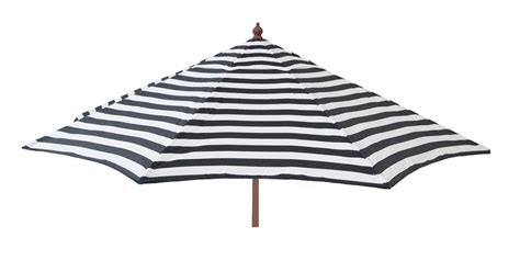 Black And White Striped Patio Umbrella Destinationgear 9 Ft Patio Umbrella Black And White Stripe